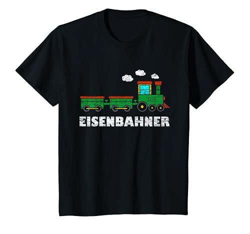 Kinder Eisenbahner Kinder Eisenbahn Jungen T-Shirt