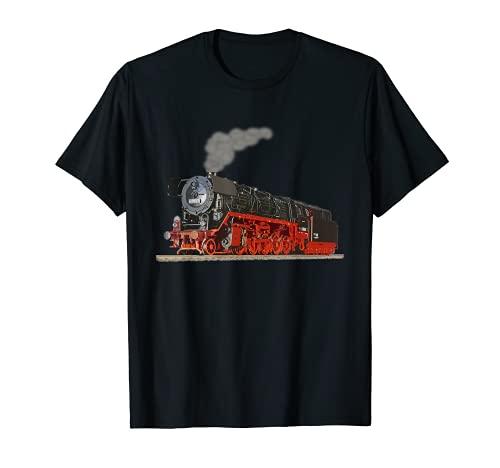 Dampflok Zug T-shirt I Eisenbahn Lokomotive T-Shirt