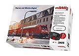 Märklin 29479 Digital-Startpackung Regional-Express, Spur H0 Modelleisenbahn, viele Soundfunktionen, mit Mobile Station und C-Gleis Schienen