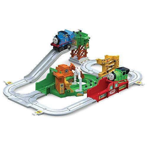 Thomas und seine Freunde, T14000 Thomas Big Loader Spielset mit Lokomotive, Spielzeuglokomotive, Spielzeugeisenbahn, Geschenke für Kinder, Thomas die Lokomotive, Kreatives Spiel für Kinder