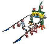 Thomas & seine Freunde FGR22 - Super-Bahnhof, inkl. Thomas (Track Master), Percy (Adventures), James (Minis) und Harold (Holz)