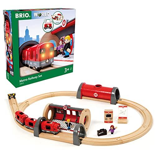 BRIO Bahn 33513 - Metro Bahn Set