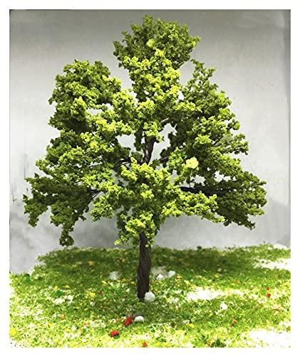liuchenmaoyi Spielzeug für den Blumengartenbau Der Zug-Eisenbahn-Drahtbaum-Modellbaum 10-20 cm Diorama (Color : 10cm 3pcs)