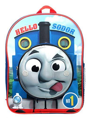 Thomas & Friends Hello Sodor 3D Flip Face Kinder Rucksack Blau