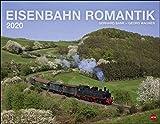 Eisenbahn Romantik. Wandkalender 2020. Monatskalendarium. Spiralbindung. Format 44 x 34 cm