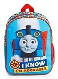 Thomas & Friends Kindergartenrucksack Jungen und Mädchen, Kinderrucksack mit Thomas Die Lokomotive Aufdruck, Kleinkind Schul Rucksack, Geschenke für Kinder