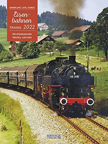 Eisenbahnen 2022: Foto-Wochenkalender