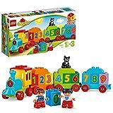 LEGO 10847 DUPLO Zahlenzug, preisgekröntes Bauset mit großen Zahlensteinen, Vorschulspielzeug, Lernspielzeug für Kleinkinder im Alter von 1,5 Jahren