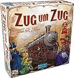 Asmodee Zug um Zug, Grundspiel, Familienspiel, Strategiespiel, Deutsch