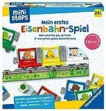 Ravensburger ministeps Eisenbahnspiel 4187 Eisenbahn-Spiel, Erstes Würfel-und Puzzlespiel zum Farbenlernen, Spielzeug ab 2 Jahre