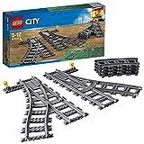 LEGO 60238 City Weichen, 6 Elemente, Erweiterungsset