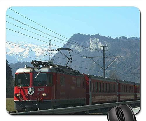 Mauspad - eisenbahn schien zuglokomotive transportverkehr