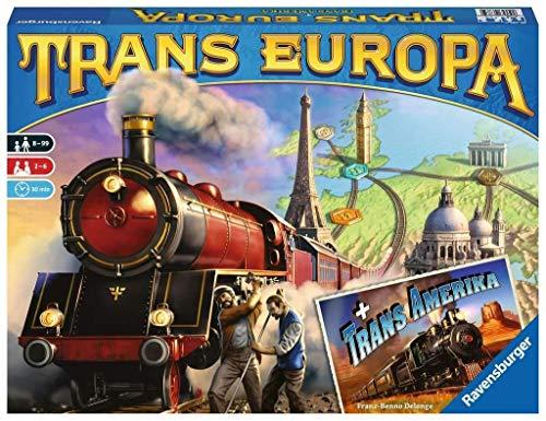 Ravensburger Spiel Trans Europa, Mehrfarbig, 26054