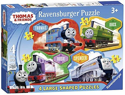 Ravensburger 7078Thomas die kleine Lokomotive 4geformte Puzzles
