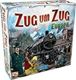 Asmodee Zug um Zug Europa, Brettspiel, Familienspiel, Deutsch