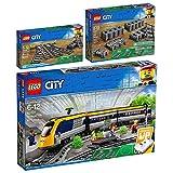 Lego City 3er Set 60197 60238 60205 Personenzug + Weichen + Schienen