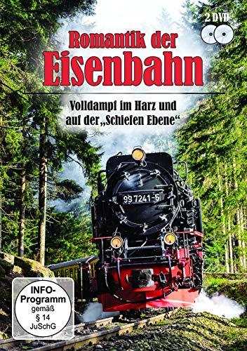 """Romantik der Eisenbahn - Volldampf im Harz + Auf der """"Schiefen Ebene"""" [2 DVDs]"""