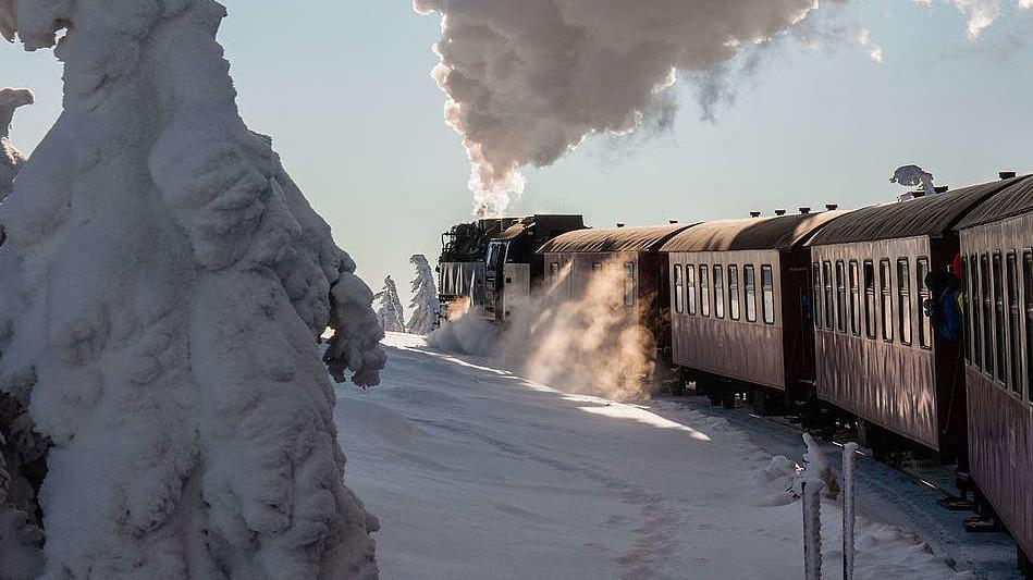 Brockenbahn - Winter