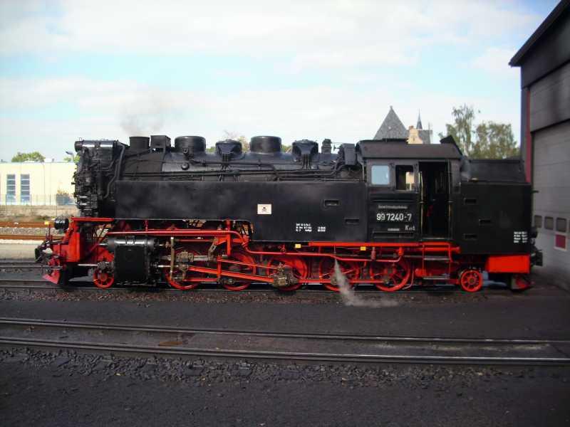 Brockenlok der Brockenbahn in Wernigerode