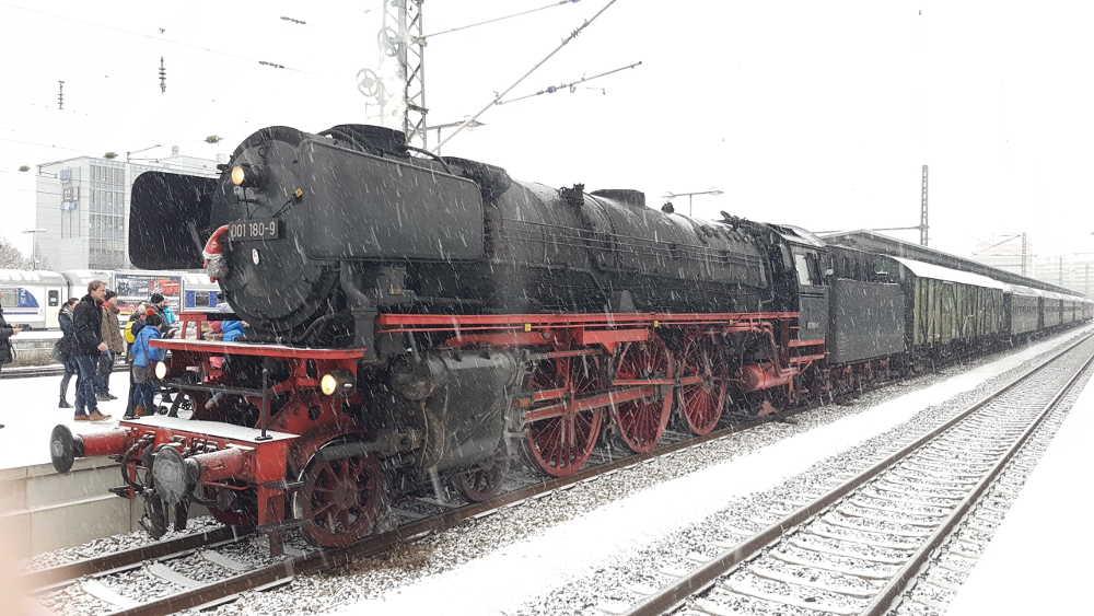 Dampflok-Sonderfahrt in München