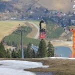 Mit Fichtelberg-Schwebebahn in Oberwiesenthal auf das Erzgebirgsdach