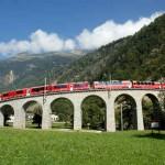 Bernina Express Brusio Viadukt 3
