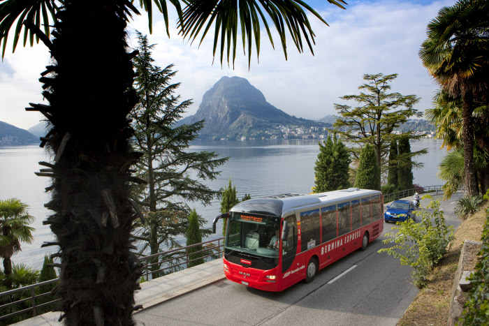 Bernina Express Bus Tirano-Lugano
