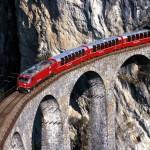 Bernina Express Landwasserviadukt
