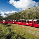 Bernina Express im Sommer