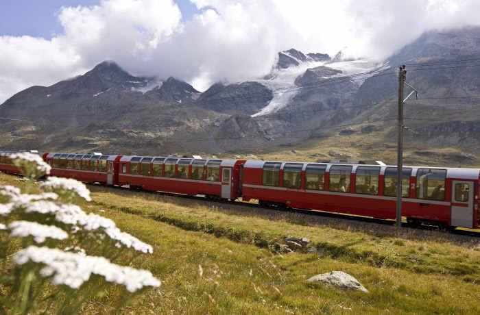 Bernina Express Sommer Engadin