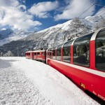 Bernina Express im Winter