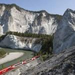 Glacier Express vor Panorama
