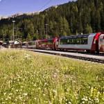 Glacier Express im Sommer