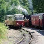 Fuhrpark Harzer Schmalspurbahn: Jubiläum Brockenlok, Mallet, Harzkamel