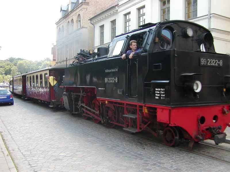 Molli-Bahn in Bad Doberan