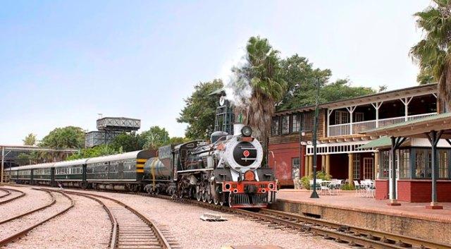 Rovos Rail Capital Park Station