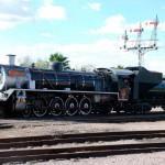 Rovos Rail: Dampflok Pride of Africa in Pretoria