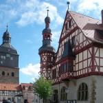Harzgerode - Marktplatz - Urlaub Harz