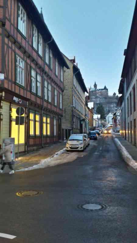 Blick auf Schloss Wernigerode