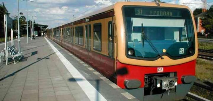 BVG-Fahrplanauskunft S-Bahn Berlin