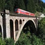 Baden-Württemberg-Ticket Deutsche Bahn - Höllentalbahn Schwarzwald