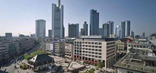 Hessenticket Deutsche Bahn - Skyline Frankfurt