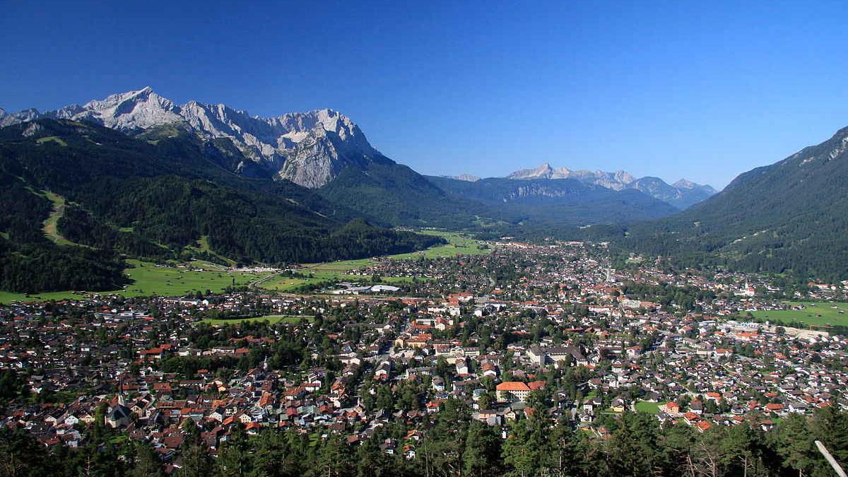 Bayern-Ticket, DB-Länderticket: Garmisch-Partenkirchen mit Zugspitze