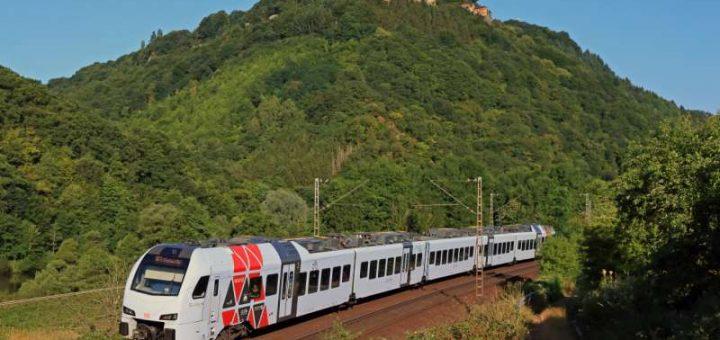 Deutsche Bahn - Saarstrecke Rheinland-Pfalz zwischen Koblenz und Kaiserslautern