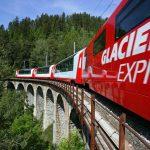 Glacier Express -Laxgrabenviadukt
