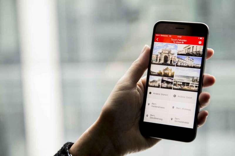 SBB Mobile - Online-App - SBB-Fahrplan + Tickets