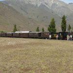Patagonien-Express La Trochita Argentinien - am Bahnhof