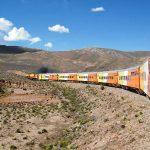 Tren a las nubes - Zug zu den Wolken Argentinien - in voller Fahrt