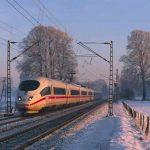 Deutsche Bahn - ICE im Winter