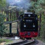 Rasender Roland: Schmalspurbahn von Göhren nach Putbus auf der Insel RÜgen